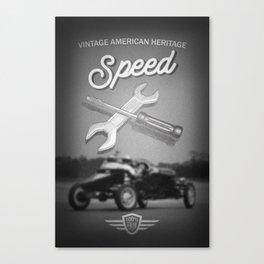 American Racing Canvas Print