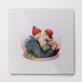 ALT ER LOVE Metal Print
