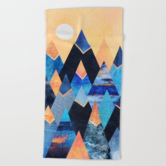 Blue Mountains Beach Towel