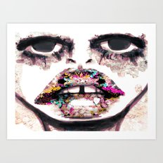 Born to Be Exteriorly Ugly Art Print