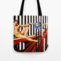 revolution Tote Bags featuring Revolution by Shanelle Hicks