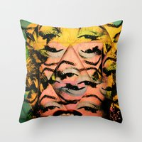 monroe Throw Pillows featuring Monroe by David