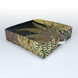 """""""Golden aloe Zebra midnight sun"""" Outdoor Floor Cushion"""