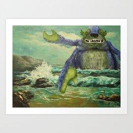 Did Somebody Say Release the Kraken Art Print