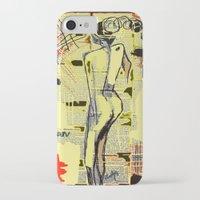 women iPhone & iPod Cases featuring Women by sladja