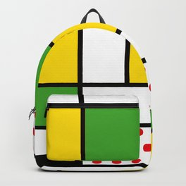 Mondrian - Bycicle Backpack
