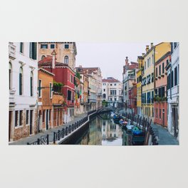 City on Water (Color) Rug