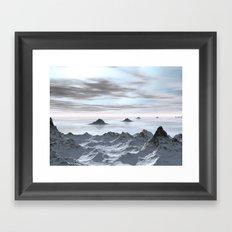 Frozen Arctic Sea Framed Art Print