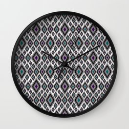 Bright ethnic pattern. 2 Wall Clock
