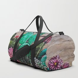 Cactus and Succulents Duffle Bag