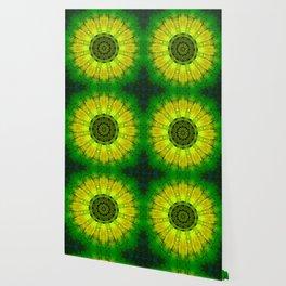 Lemon Lime Mandala Wallpaper