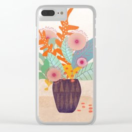 Tropic In A Pot #society6 #buyart #decor Clear iPhone Case