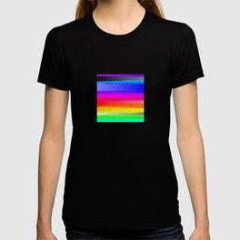 Rainbow and white S28 T-shirt
