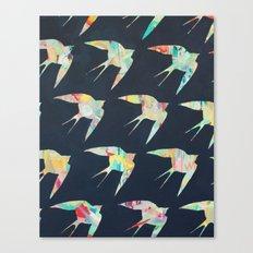 Australian Welcome Swallow I Canvas Print