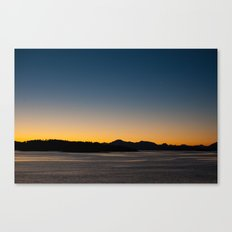 Patagonia Sunset Canvas Print