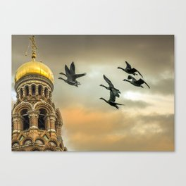 Take me to the Golden Domes Canvas Print