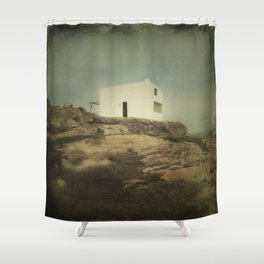 Once Upon a Time a Lonely House Shower Curtain
