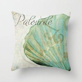 La Mer II Throw Pillow
