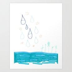 Soft Fall Art Print