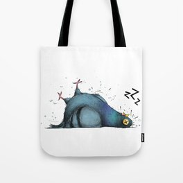 Permanently Exhausted Pigeon Tote Bag