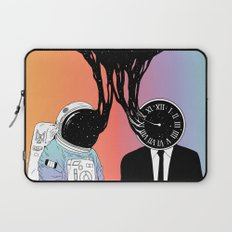 A Portrait of Space and Time ( A Study of Existence) Laptop Sleeve
