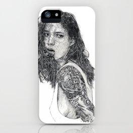 Lust & Tattoos iPhone Case