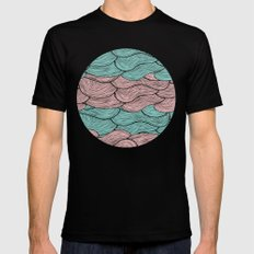 Summerlicious MEDIUM Black Mens Fitted Tee
