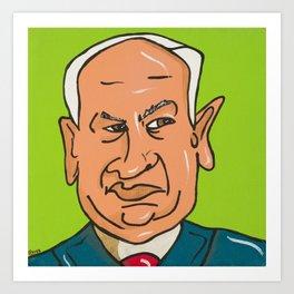 Netanyahu Art Print