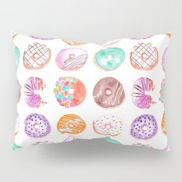 I Eat Donuts, Man-Orangey Pillow Sham