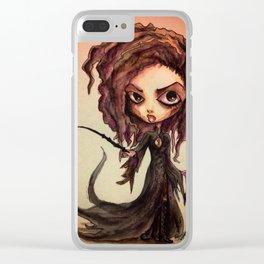 Bellatrix Clear iPhone Case