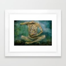 Calmness Framed Art Print
