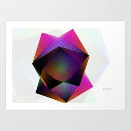 Digital Feeling Art Print
