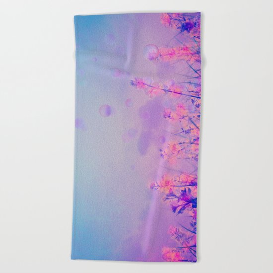Purple Dream Beach Towel
