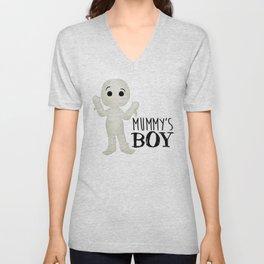 Mummy's Boy Unisex V-Neck