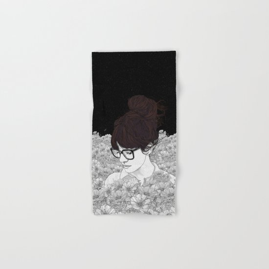 Night Sky Hand & Bath Towel