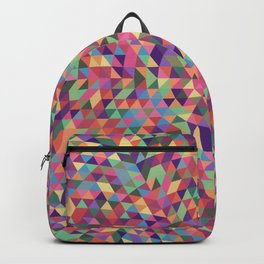 Colorful Triangle Mandala Backpack
