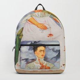 Two fridas art Backpack