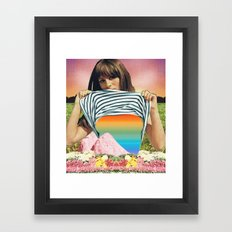 Internal Rainbow II Framed Art Print