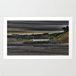 Cottage @ Laytown Beach Art Print