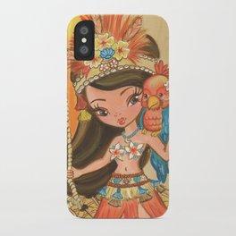 Luau Lulu iPhone Case