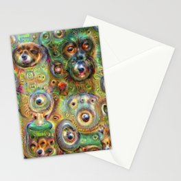 Deep Dream Stationery Cards
