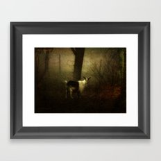 At Dusk - Julchen Framed Art Print