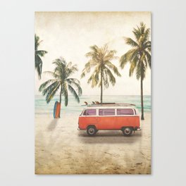 Traveling Time Canvas Print
