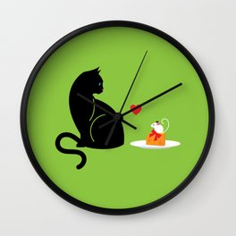 Mouse Trap Wall Clock