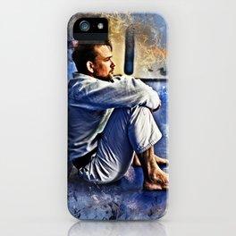 Flanery BJJ - Grunge Design iPhone Case