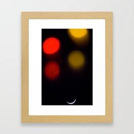 New York Stars Framed Art Print