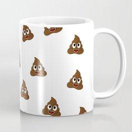 Cute smiling poop emoji Coffee Mug