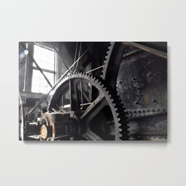Gold Dredge 8 Metal Print