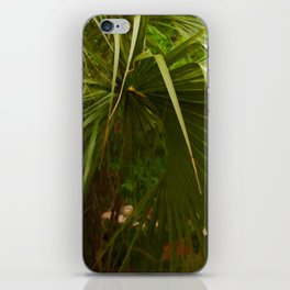 Floral Print 007 iPhone Skin