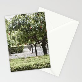 Granada Orange Tree Patio Stationery Cards